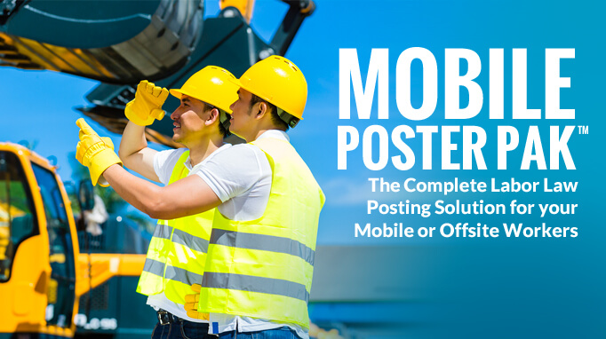 Compliance Posters for Mobile or Offsite Workers