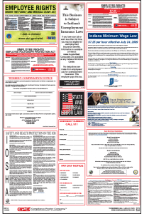 Indiana Labor Law Posters