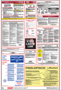 Maryland Labor Law Posters