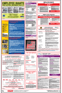 New Mexico Labor law compliance Poster