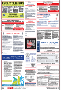 Rhode Island Labor law compliance Poster