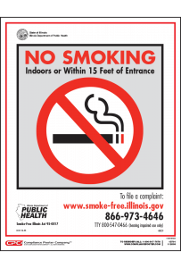 Illinois No Smoking Posters