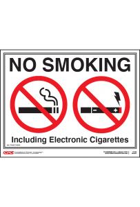 Nebraska No Smoking Poster