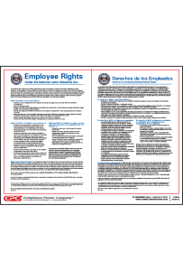 Private Employer NLRA Poster - Bilingual