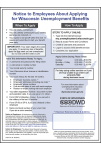 Procedural Change to Wisconsin's Unemployment Insurance Posting
