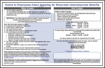 Wisconsin Unemployment Insurance Notice is Revised Once Again